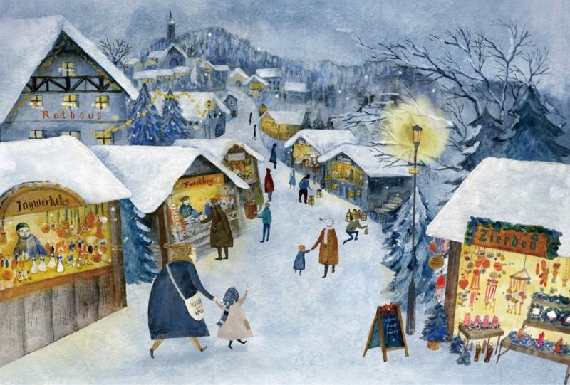 クリスマスマーケットのふしぎなよるDM
